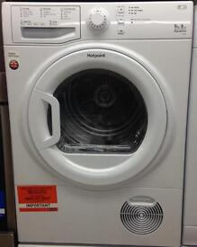***NEW Hotpoint 9kg condenser sensor dryer for SALE with 1 year warranty***