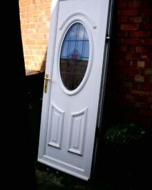 WHITE U.P.V.C DOOR