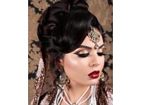 Asian makeup artist Hertfordshire Bedfordshire Milton Keynes Bedford Hitchin Luton Harrow St Albans