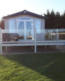 Lovely 2014 Swift Bordeaux 3 bed 8 berth, CH, DG, at Reighton Sands Haven Park, Pitch 33 Lakeside
