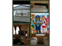 Caravan to rent at Craigtara