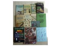 10 Bird Identifying Books / Twitchers & 2 David Attenborough