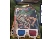SCOUT 3D COMIC (inc Glasses) Issue 16