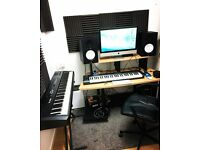 STUDIO WITH EQUIPMENT AVAILABLE IN WANDSWORTH