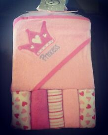 Baby Hooded towel and washcloth gift sets