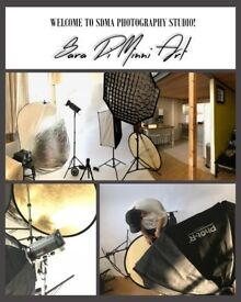 Photography Studio and Photography services ! 50% discounts only for Jun-Jul! Headshots and more!