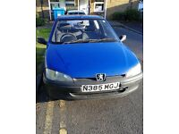 Low mileage Peugeot 106 4 Door