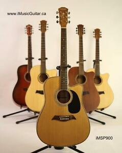 Acoustic guitar for beginners 41 inch full size Dame iMSP900 Nautral Brand New