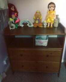Solid Wood Chest of drawers & Corner unit