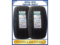 255/35ZR19 96Y XL JINYU 2 TYRES INCLUDING FITTING BALANCING ONLY £130 NEW TYRES 2553519