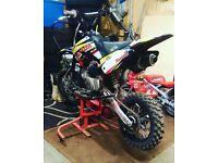 2013 m2r crf70 140 pit bike.. not stomp demon yz kx cr rm quad dirt bike mini moto