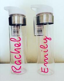 Love Island Inspired Water Bottles