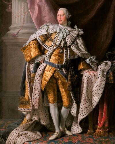 New Photo: Coronation Portrait of King George III of United Kingdom - 6 Sizes!