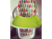 Functional and Quirky High Chair