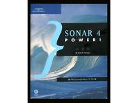 Cakewalk Sonar 4 Power Manual by Scott Garrigus with instructional CD.