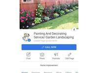 Painting And Decorating Service/ garden landscaping
