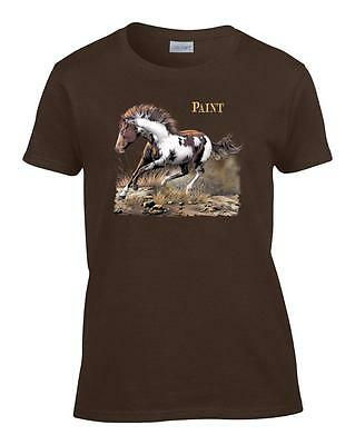 Horse Womens Shirt - Ladies Paint Horse Women's T-Shirt