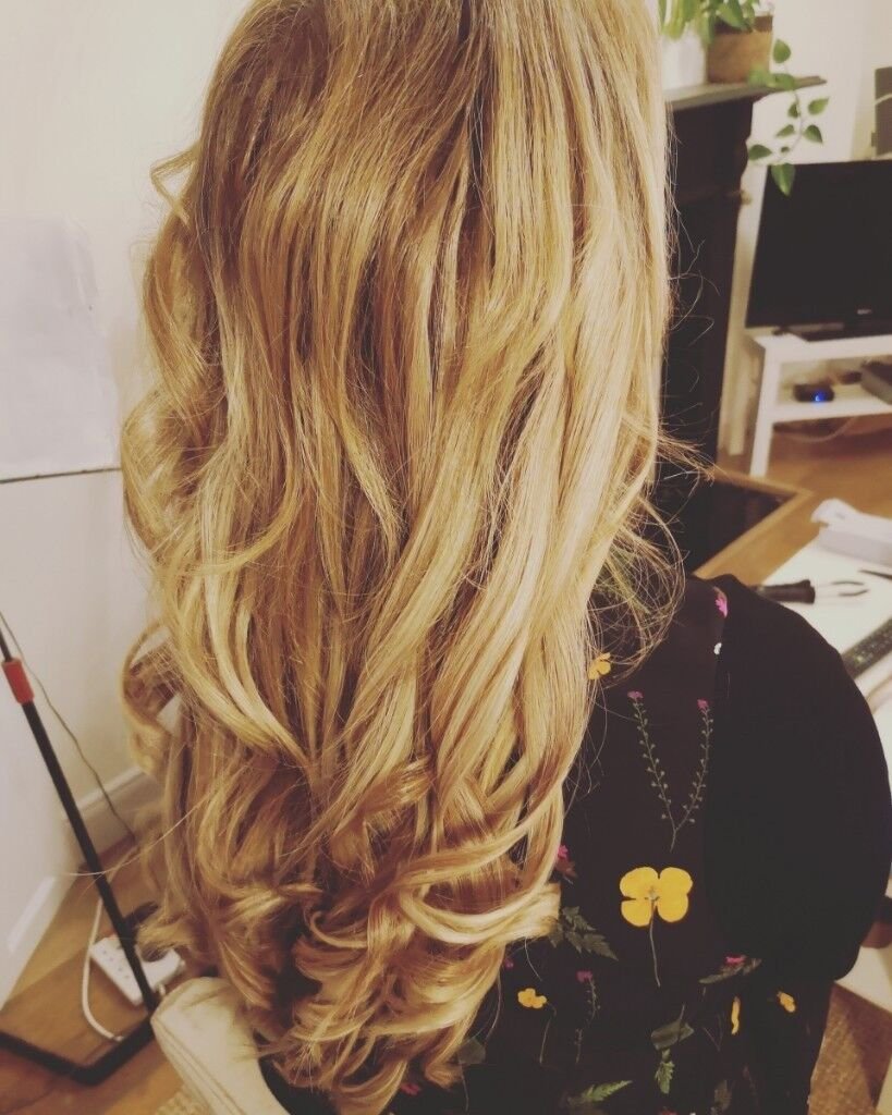 Qualified Hair Extensions Technician Micro Rings Nano Rings And