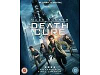 Maze Runner The Death Cure Blu Ray