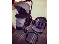 Graco Evo pushchair travel system including isofix - excellent condition!