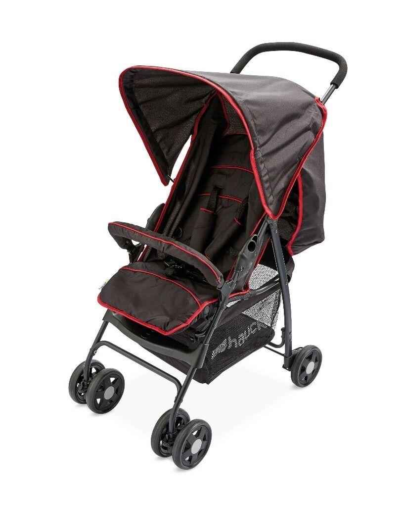 brand new hauck black red sport buggy pushchair stroller in derby derbyshire gumtree. Black Bedroom Furniture Sets. Home Design Ideas