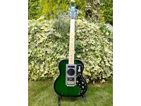 Burns Steer Semi Hollow Electric Guitar, Play something with style