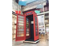A British Phone booth