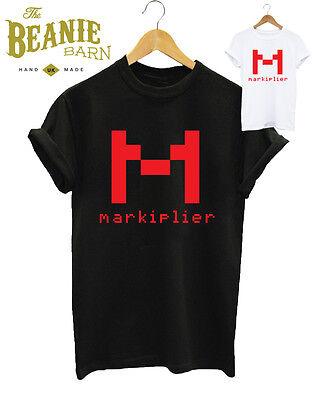 markiplier t-shirt youtube pewdiepie gaming jacksepticeye gaming