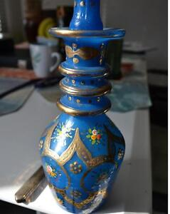 Vintage Hand Blown Glass Bottle With Stopper Gatineau Ottawa / Gatineau Area image 3