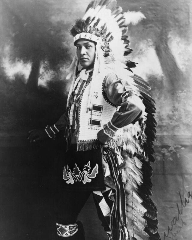 New 11x14 Native American Photo: Hiawatha #1 Chief, North American Indian - 1909