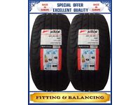 225/45ZR17 94YXL RIKEN 2 TYRES INCLUDING FITTING BALANCING ONLY £90 NEW TYRES 2254517