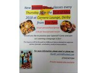 Spanish lessons £18 per h/£23 per h and 1/2;25%off the first lesson; Derby/Spondon