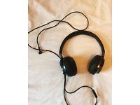 Philips Fidelio NC1 noise cancelling headphones, black, memory foam cushion