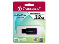 9x New Transcend JetFlash 360 32GB USB 2.0 FLASH DRIVE PEN DRIVE