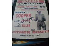 Boxing collectables
