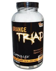 Controlled Labs ORANGE TRIAD Multivitamin Joint Digestion Immune Health 270 caps - VITAMINE