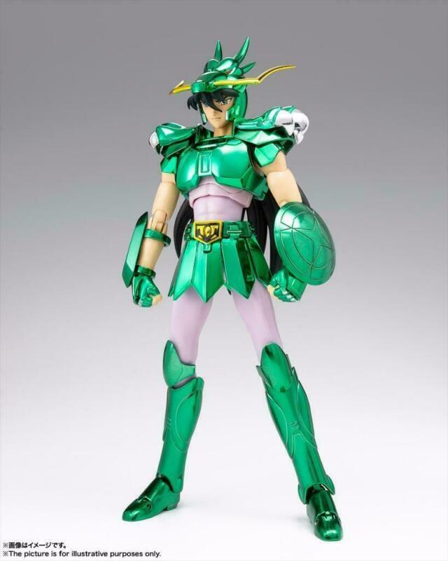 Action Figure Bandai Saint Seiya Myth Cloth Dragon Shiryu V1 Revival