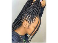 Hairdresser, Afro Caribbean, European braiding , mobile hairdresser/ wigs maker