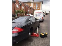 24hour Mobile Tyre Emergency Service Puncture Tyres Fitter Fitting Services 24hr Breakdown Recovery