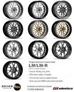 BBS LM / LM-R 2-Piece Forged 2018 Limited Edition Special ***Wheelsco***