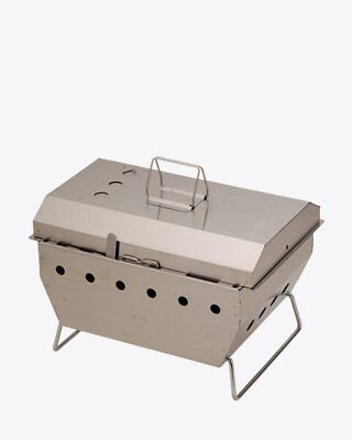 SNOW PEAK JAPAN IRON GRILL TABLE IGT SINGLE BARBEQUE BBQ BOX (CK-130) - NEW