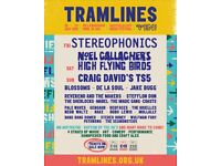 2 x Tramlines Festival Weekend tix for sale - can email immediately