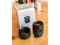 SAMYANG 50mm 1.4 - Sony E mount