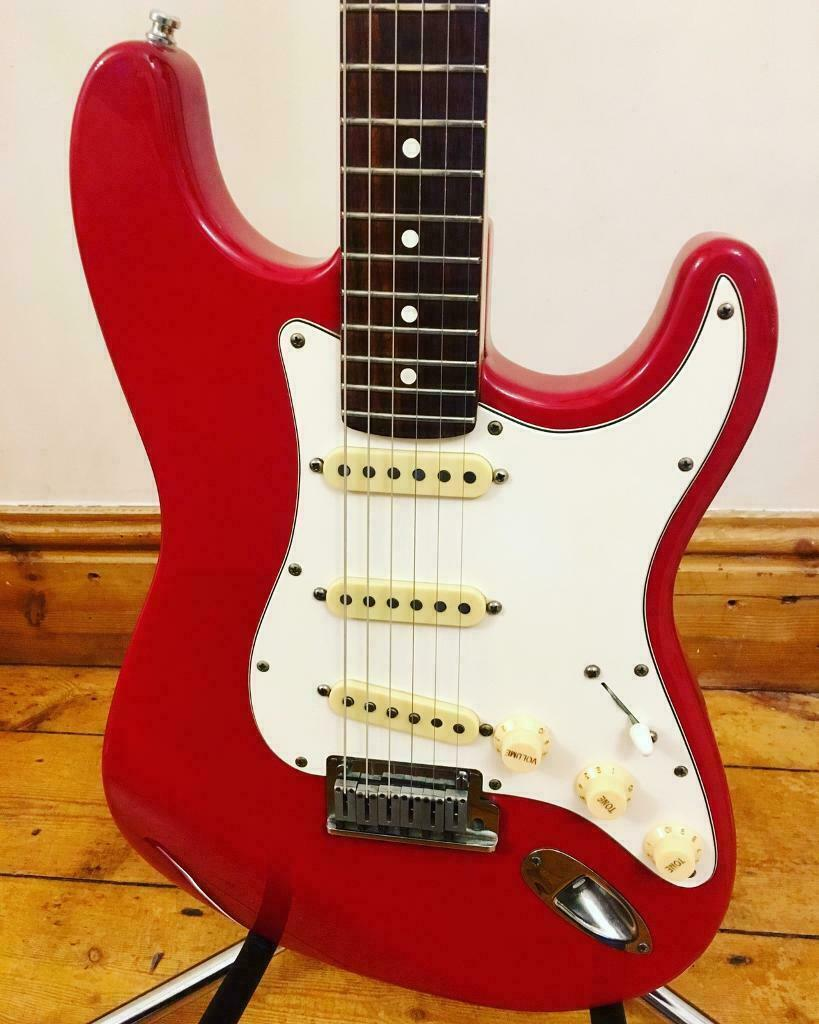 1989 Fender American Standard Stratocaster Vintage Guitar – Dakota Red | in  Anstey, Leicestershire | Gumtree