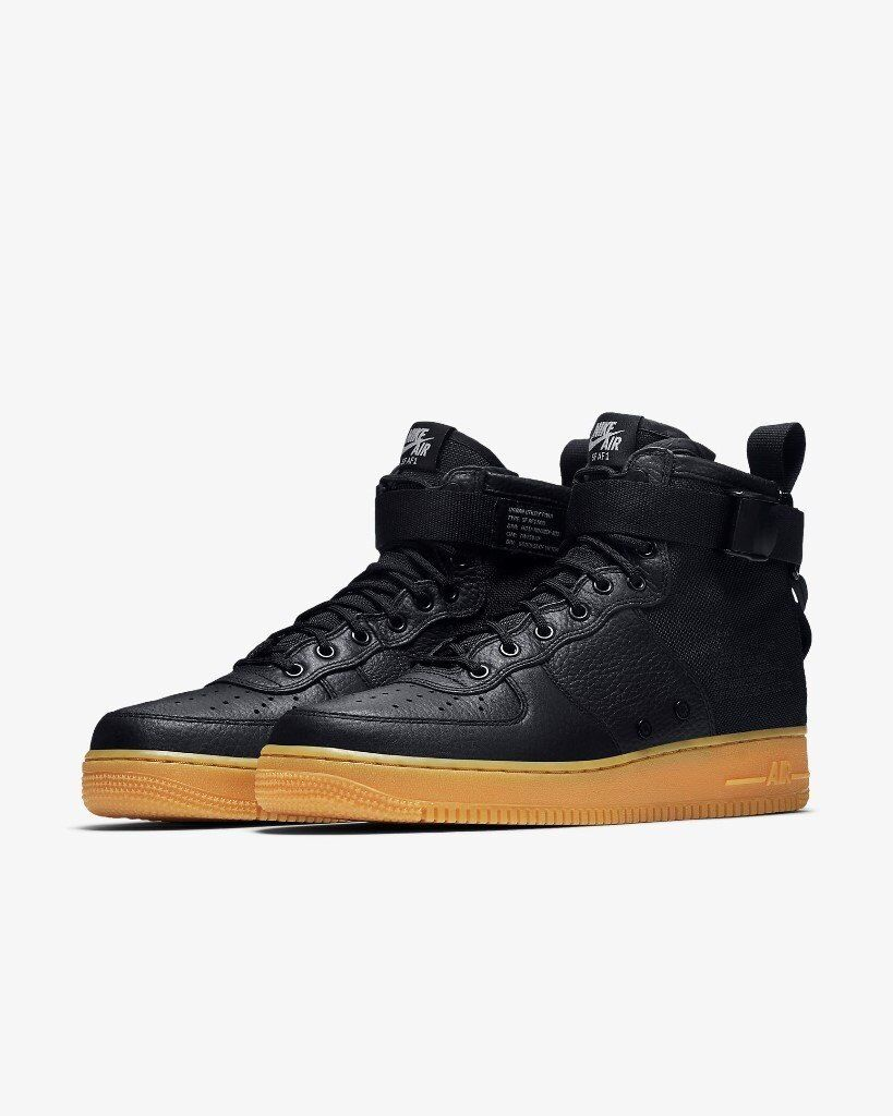 1e934a08c96be0 Nike SF Air Force 1 Mid size uk 8.5 black