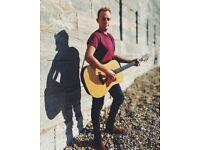 Singer Guitarist for Parties, Events, Pubs WATCH LIVE VIDEO CLIP
