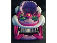 Baby coupe walker/rocker