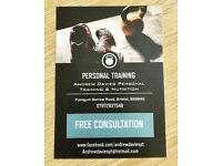 Personal Training - Level 4 Specialist. Fat loss, tone, stength, muscle gain, low back pain.