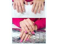 Lower prices for shellac nails / nails extension (gel on form)