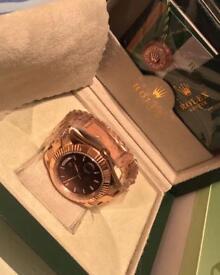 Rolex day date - Rose Gold